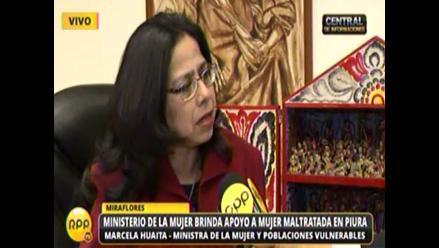 MIMP exige a fiscalía pedir detención de agresor de mujer en Piura