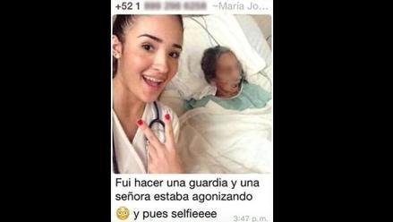 Facebook: estudiante de medicina se tomó 'selfie' con paciente y generó polémica