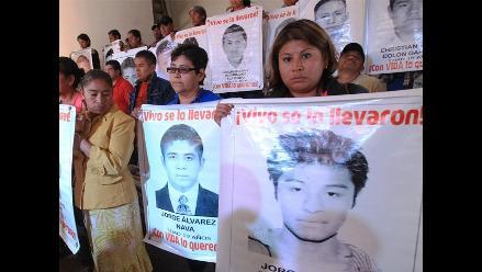 México: padres de estudiantes desaparecidos anuncian huelga de hambre