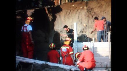 Huaral: hombre murió sepultado por muro de contención