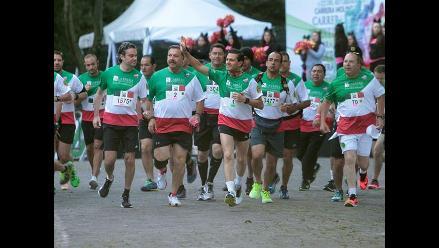 México: Peña Nieto y sus ministros participaron de carrera 10K