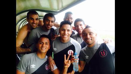 Universitario de Deportes entrena bajo lluvia pensando en Deportivo Anzoátegui