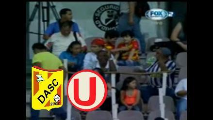 Universitario vs. Deportivo Anzoátegui: Hincha de Alianza en la tribuna