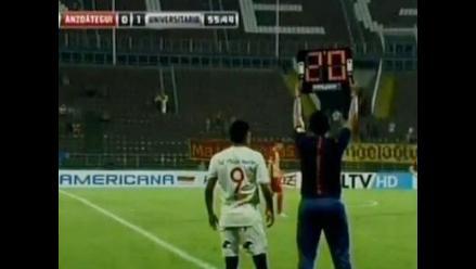 Universitario vs. Deportivo Anzoátegui: Raúl Ruidíaz volvió a vestirse de crema