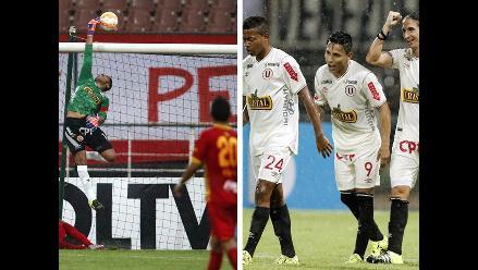 Universitario vs. Deportivo Anzoátegui: Las mejores imágenes del partido