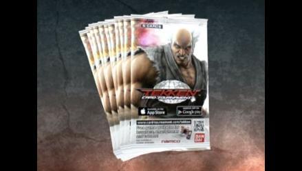 Anuncian tarjetas coleccionables de Tekken