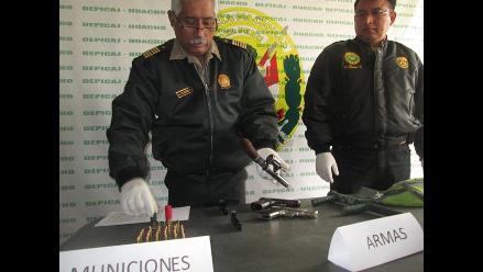 Huaura: detienen a presuntos traficantes de tierra en Sayán