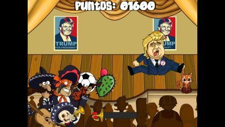 Mexicanos crean videojuego en el que se puede golpear a Donald Trump