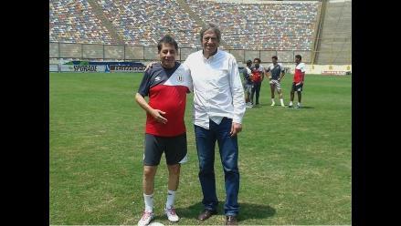 Universitario de Deportes: Roberto Chale firmó y seguirá como DT crema