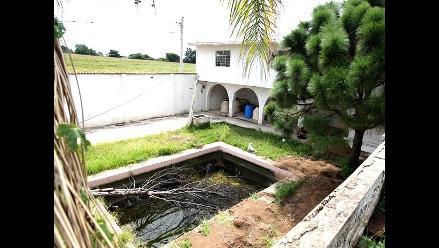 México: Descubren finca donde narcos disolvían cuerpos humanos