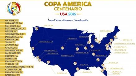 La sede de América: Estados Unidos está listo para recibir la Copa Centenario